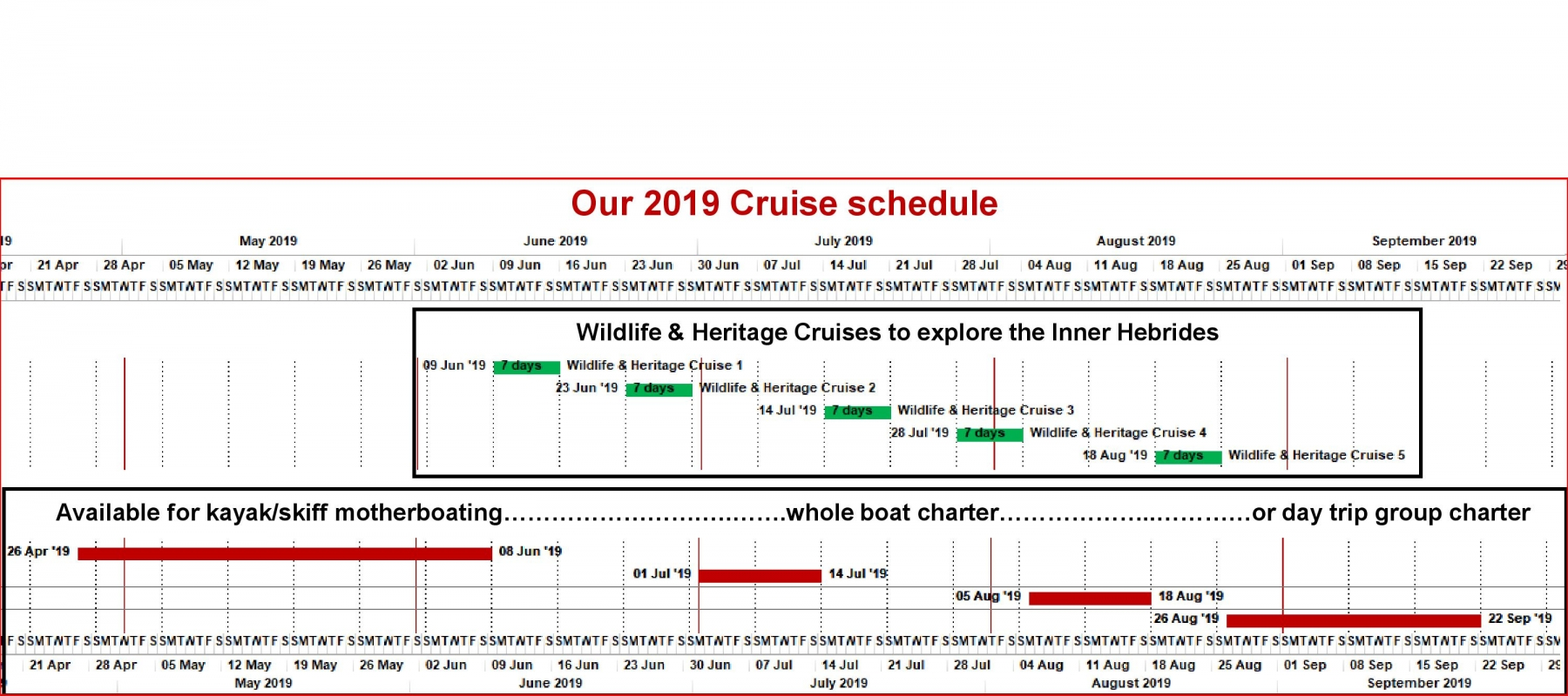 Our 2019 Cruise schedule-page-001